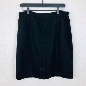Ellen Tracy Straight Knee Lenght Skirt Size L